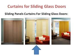 Sliding Glass Door Curtains Curtains For Sliding Glass Doors Free Home Decor