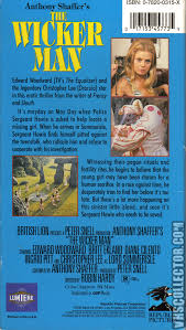 the wicker man vhscollector com your analog videotape archive