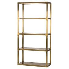 Steel Barrister Bookcase Bookcases U0026 étagères Living Room Furniture One Kings Lane