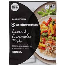 cuisine weight watchers buy weight watchers frozen meal lime coriander poached fish 340g