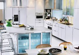 Tambour Kitchen Cabinet Doors Astonishing Building A Kitchen Island With Ikea Cabinets Also