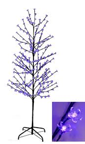 amazon com northlight 6 ft enchanted garden led lighted cherry