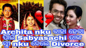 sabyasachi divorce to his to with archita