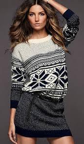 fair isle sweater dress clothing sweater dress 2010 winter fashion trend
