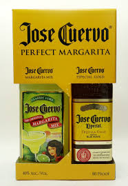 Margarita Gift Set Jose Cuervo Perfect Margarita Mix And Especial Gold Tequila 750