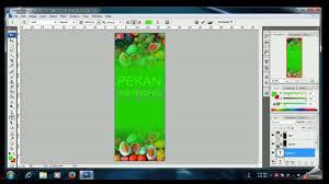 cara membuat desain x banner di photoshop cara membuat banner xbanner untuk pemula dengan photoshop youtube
