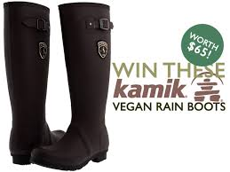 s kamik boots canada win a pair of vegan rubber boots by kamik worth 65