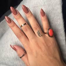 light brown nail polish light coffee brown nails image via we heart it hair makeup