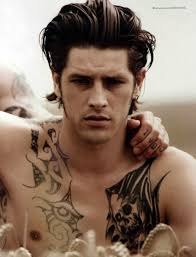 male models with black chest tattoo tattoomagz