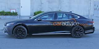 lexus ls features 2018 lexus ls u0027f u0027 spied blog about cars and motorcycles