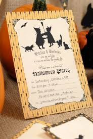 Free Halloween Border Paper by 21 Free Halloween Invitations That You Can Print
