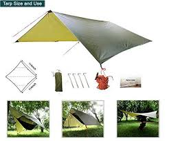 hammock tent with mosquito net for camping portable hammock kit