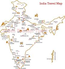Map India Travel Map In India Indian Holidays Travel