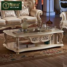 Ivory Coffee Table European Style Living Room Coffee Table A Few Simple Ivory