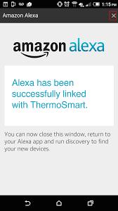 amazon echo thermosmart