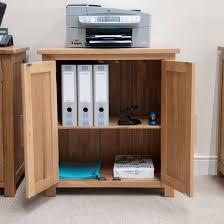 Pine And Oak Furniture Printer Storage Cupboard Best Home Furniture Decoration