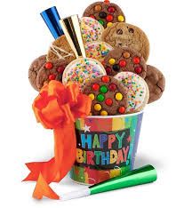birthday gifts happy birthday cookie pail foodgiftsdelivered