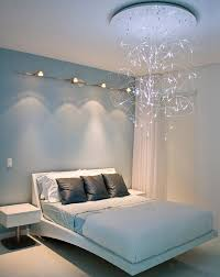 Modern Bedroom Lighting General Sleek Modern Bedroom Design With Lovely Lighting And A