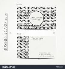 vector simple business card design delta stock vector 552722620