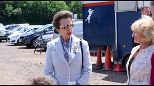 princess anne visits exeter youtube