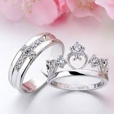 king and crown wedding rings exclusive king and wedding rings with crown design 15