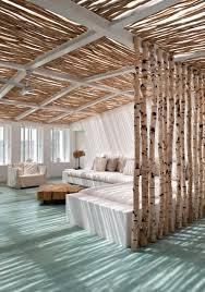 wohnzimmer deko selber machen innenarchitektur kleines tolles birkenstamm ins wohnzimmer