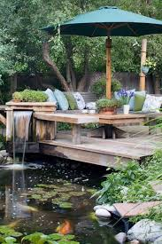 Garden Pond Ideas Pleasant Garden Pond Ideas Best 25 On Pinterest Fish Ponds And Koi