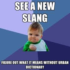 Meme Slang - see a new slang figure out what it means without urban dictionary