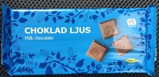 choklad ljus ikea 100 g