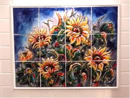 21 best hand painted tile murals images on pinterest tile murals