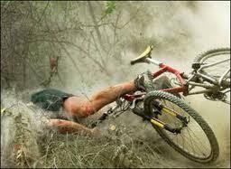 Bike Crash Meme - my thoughts on kickboxing part one lisamleung