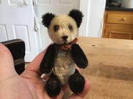 Howdy Doody Rocking Chair Rare Antique Miniature Mohair Schuco Tricky Yes No Panda Bear So