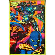 large black light posters vintage comic book superhero movie posters original prints