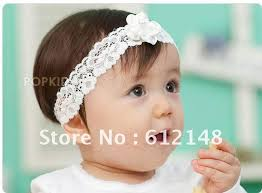 baby girl hair bands wholesale pearl sunflower lace baby girl s hairband children