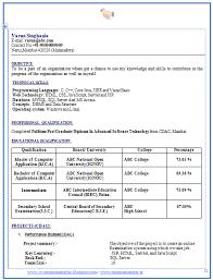 latest resume format free download 2015 tax job resume free download mca resume format for freshers exles