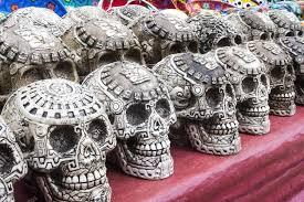 mayan souvenir skulls stock photo info nicolasvelasquez es