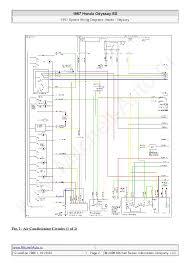 1999 honda odyssey wiring diagram honda free wiring diagrams for