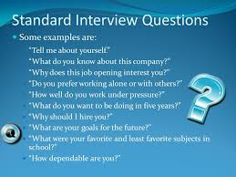 tell about yourself job interview by rebecca cosper and elizabeth moczygemba the job interview to