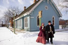 7 magical christmas towns u0026 villages in ohio