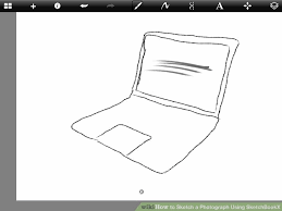 how to sketch a photograph using sketchbookx 10 steps