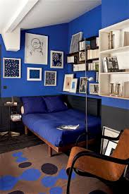 cobalt blue walls it u0027s not cave like at all the white