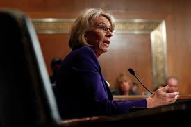 what betsy devos did and didn u0027t reveal about her education