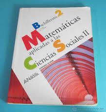 imagenes matematicas aplicadas matemáticas aplicadas a las ciencias sociales i comprar libros de