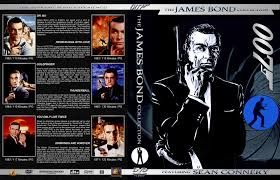 Three Blind Mice James Bond 007 Sean Connery Collection 6 Dvd Cover 1962 1971 R1 Custom