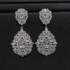 heavy diamond earrings newest design wedding earrings heavy earrings jewelry heavy