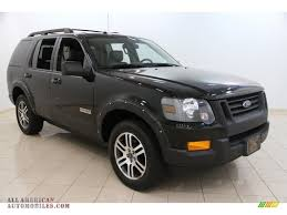 Ford Explorer All Black - 2007 ford explorer xlt ironman edition 4x4 in black a78105 all