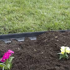 amazon com dimex easyflex no dig plastic landscape edging kit 40