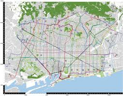 Smart Bus Route Map by