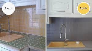 peindre du carrelage cuisine peinture pour carrelage plan de travail cuisine monlinkerds maison