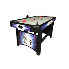 harvil 5 foot air hockey table with electronic scoring amazon com carmelli patriot 5 air hockey table sports outdoors